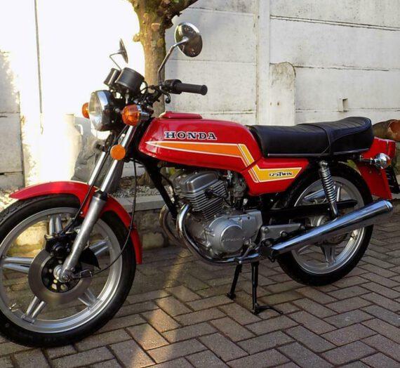Honda cb 125 twin  VERKOCHT!!!