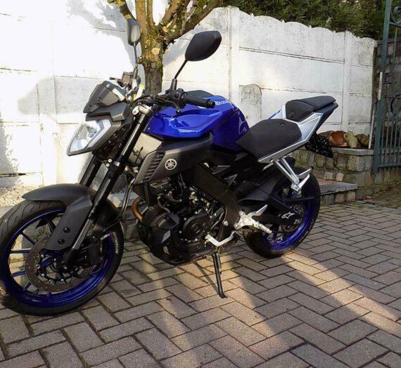 Yamaha mt 125 (2018)  VERKOCHT!!!