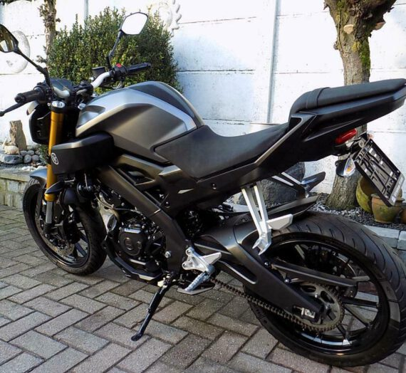 Yamaha mt 125 (2015)  VERKOCHT!!!