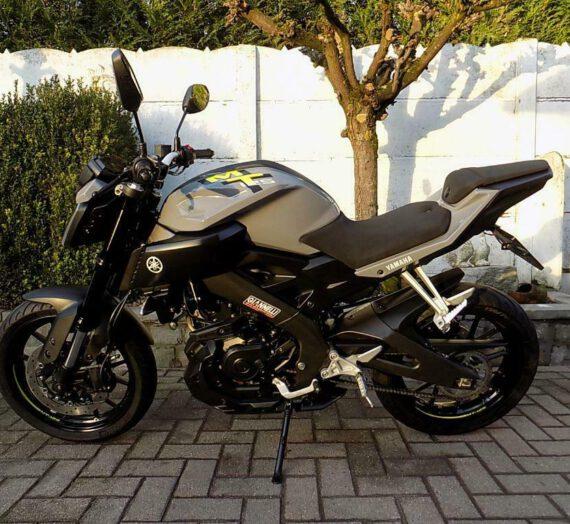Yamaha mt 125 (2016) VERKOCHT!!!!