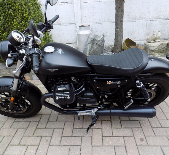 Moto Guzzi V9 Bobber VERKOCHT!!!!
