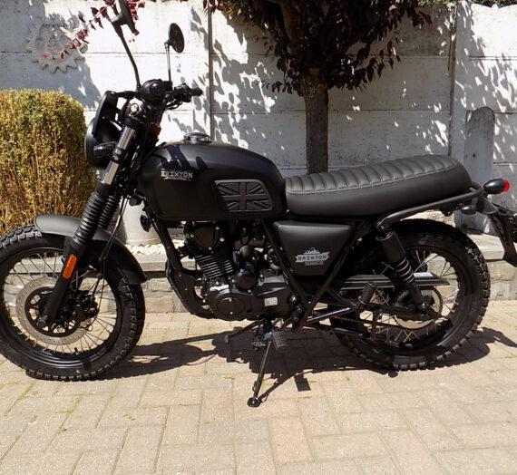 Brixton scrambler , café racer moto 125cc ABS