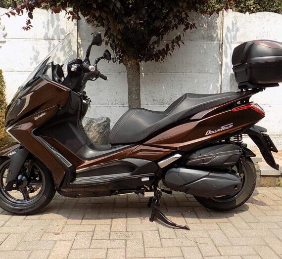 Kymco downtown exclusive motorscooter 350cc  VERKOCHT!!!