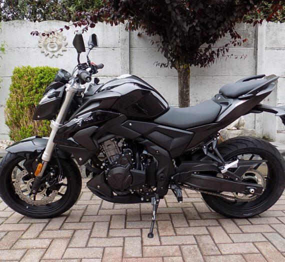 Voge 500r (35kw/a2 rijbewijs) naked bike!!