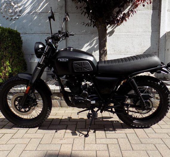 Brixton bx 125 x scrambler , café racer moto 125cc  VERKOCHT!!!