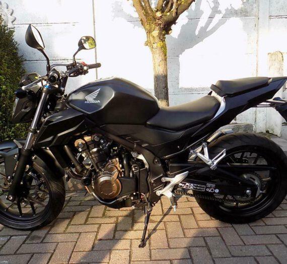 Honda cb500fa  VERKOCHT!!!