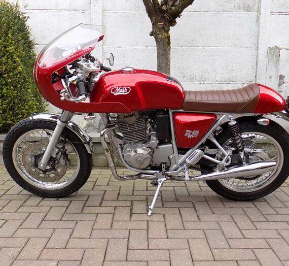Mash TT 40  400 cc cafe racer (abs). VERKOCHT!!!!