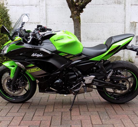 kawasaki ninja 650cc  VERKOCHT!!!