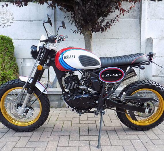 Bullit hero 125cc  scrambler