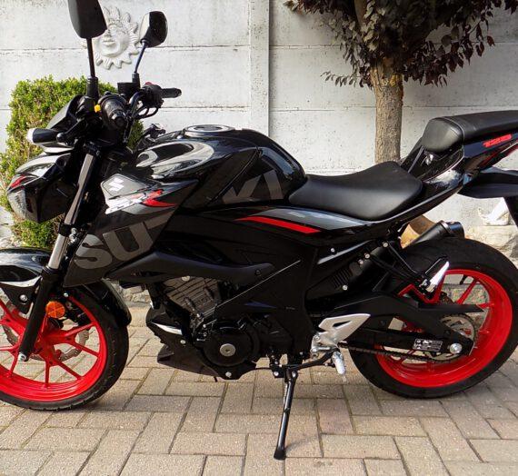 Suzuki Gsx 125 S naked bike  VERKOCHT!!!