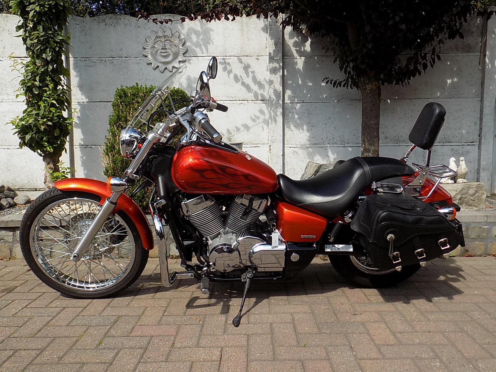 honda shadow spirit 750cc (A2 rijbewijs)!!! chopper