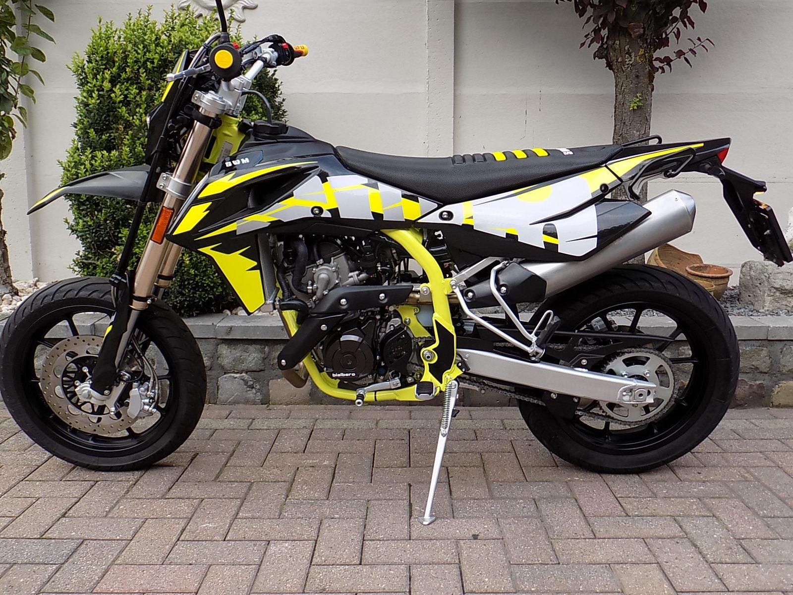 SWM SM 125 R Super moto super motard (VERKOCHT)!!!