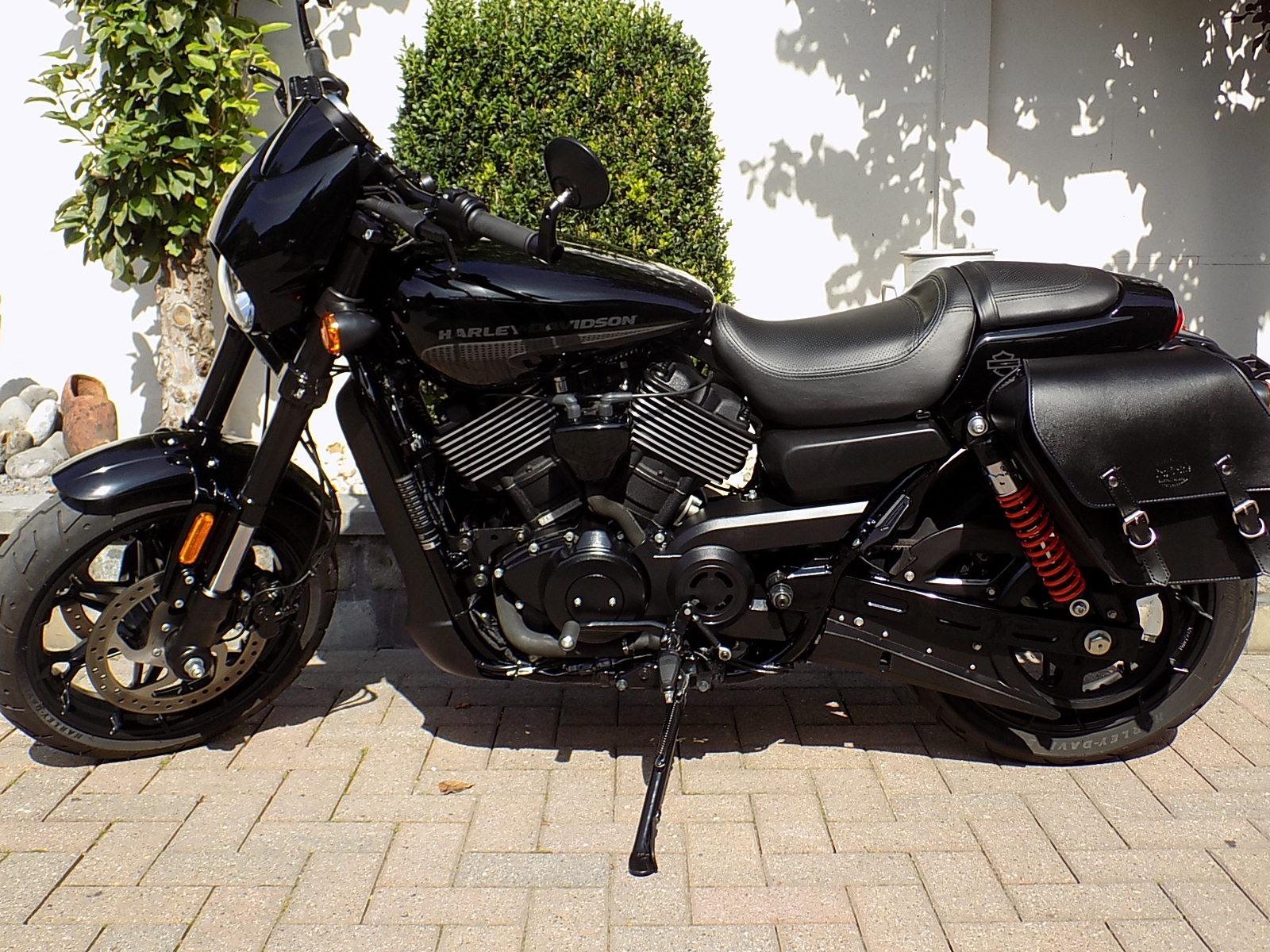 Harley-Davidson  street rod 750 (VERKOCHT)!!!