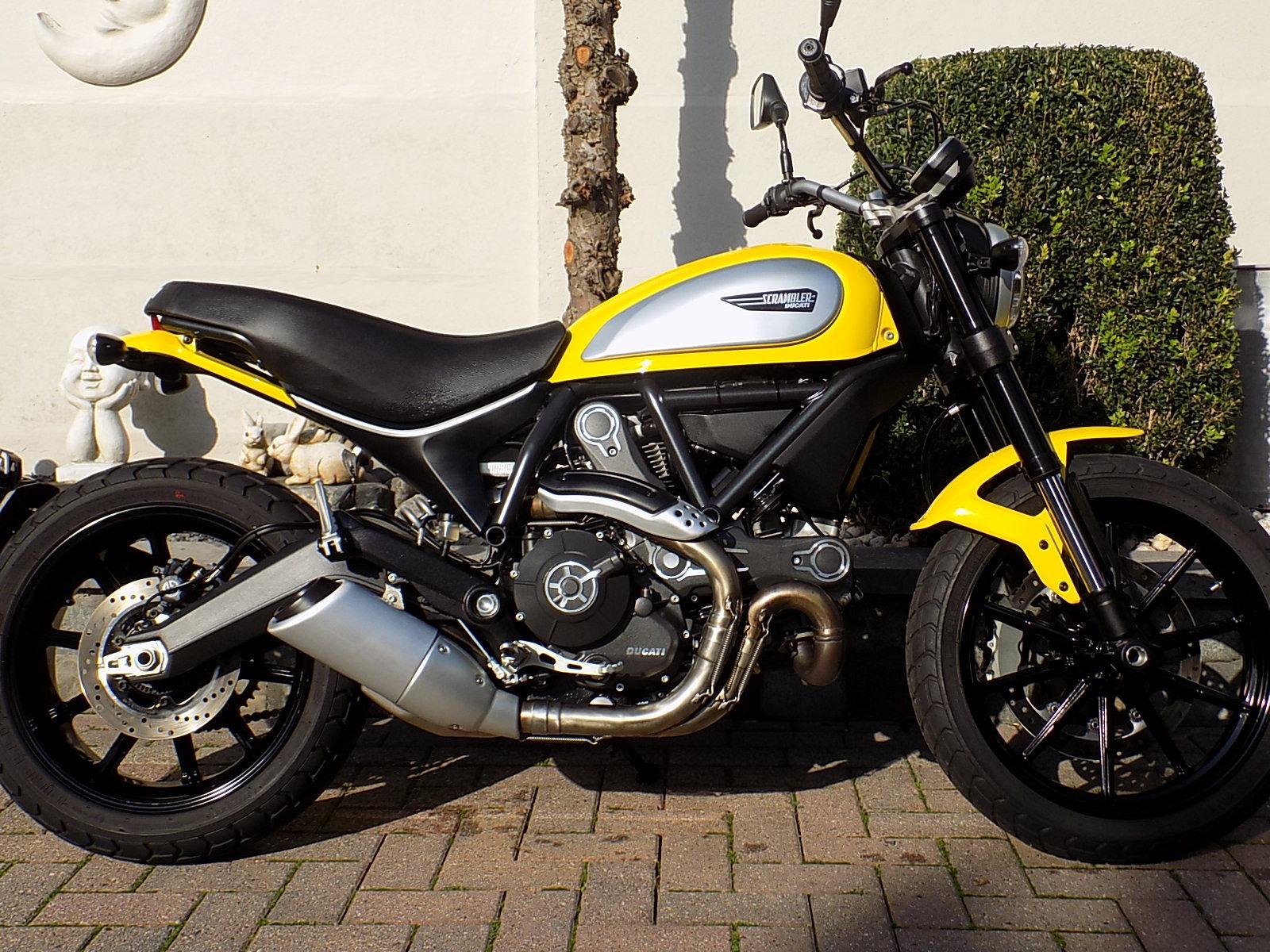 ducati scrambler icon 800cc (VERKOCHT)!!!